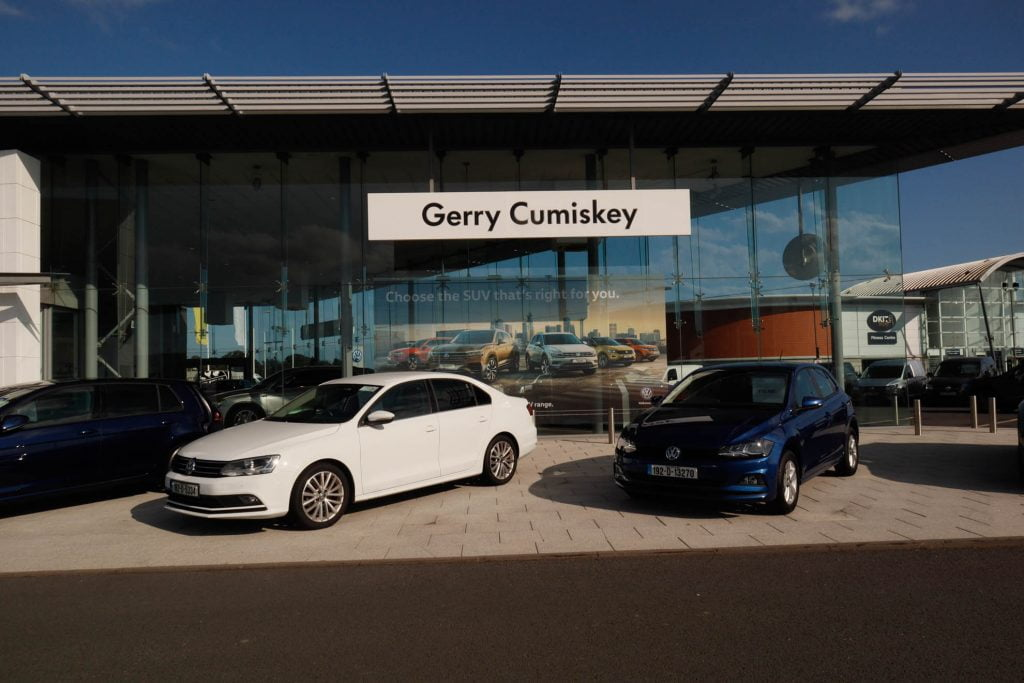 Meegan builders - Gerry Cumiskey Motors, Volkswagon dealership, Dundalk, Meegan builders
