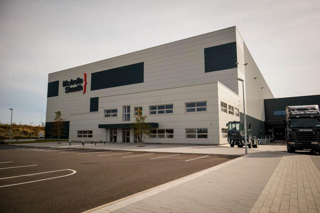 Mcardle Skeath warehouse facility Hollystown, Dublin Meegan builders