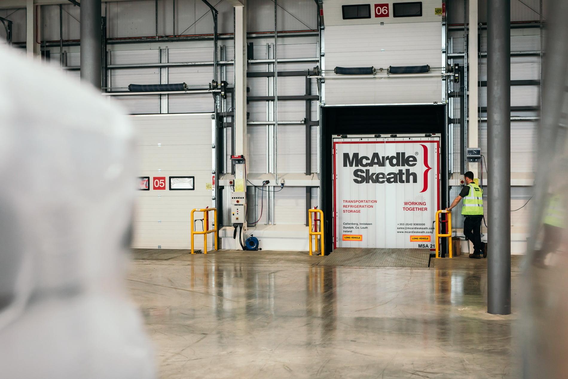Meegan builders - Mcardle Skeath warehouse facility Hollystown, Dublin
