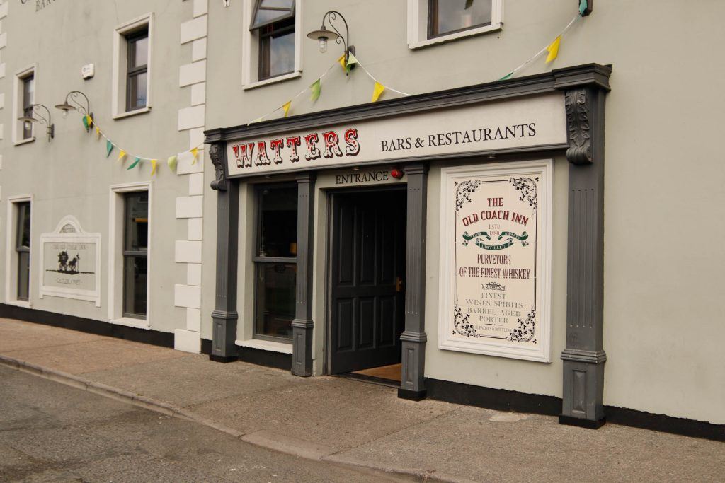 Meegan builders - old coach inn restaurant and bar castleblayney
