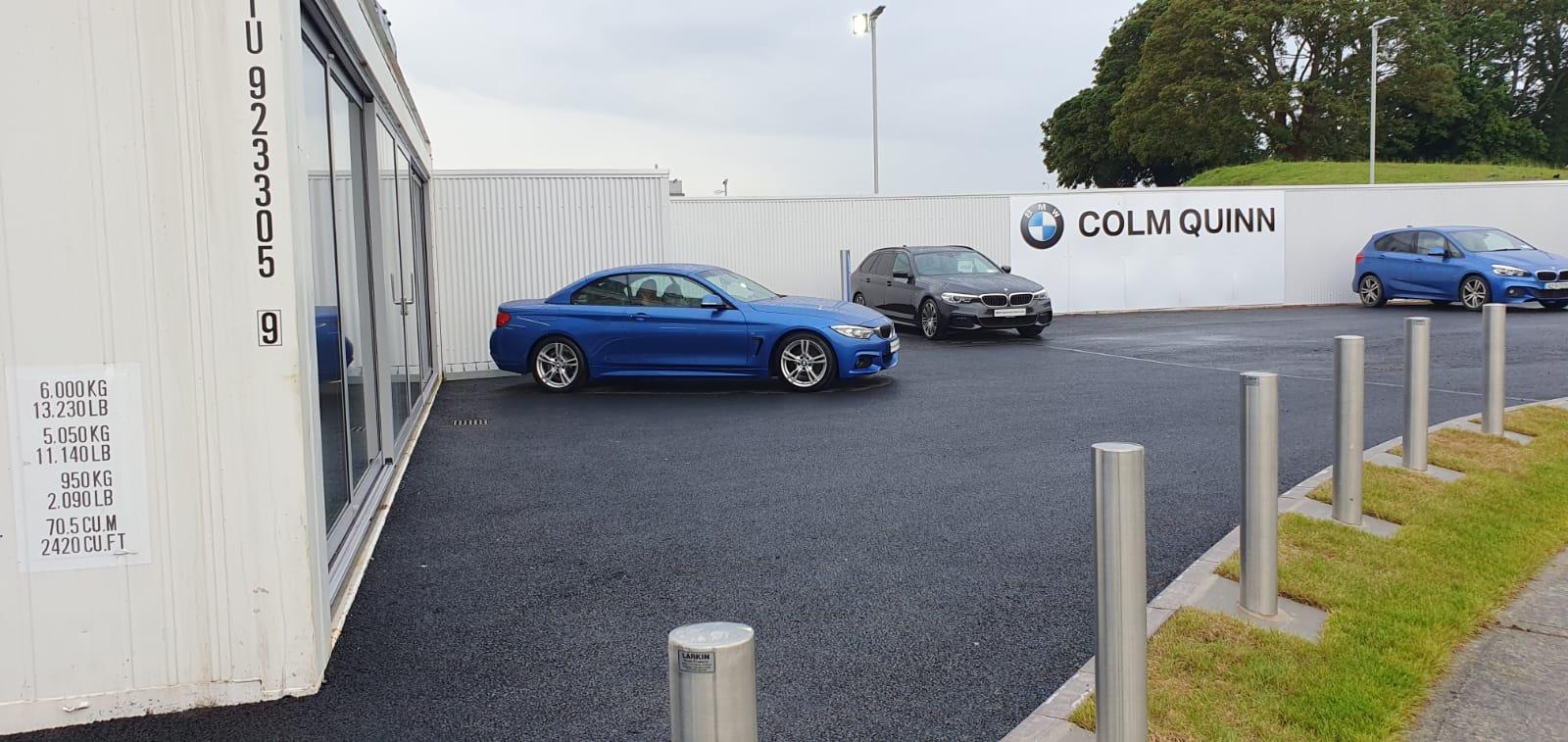 Colm Quinn BMW Show room Drogheda