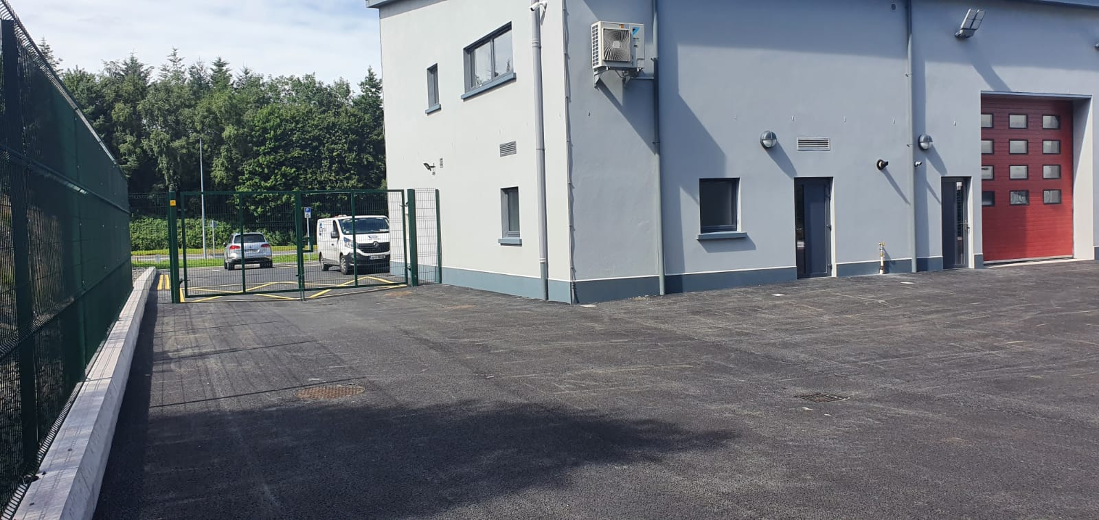 Meeganbuilders castleblayney fire station